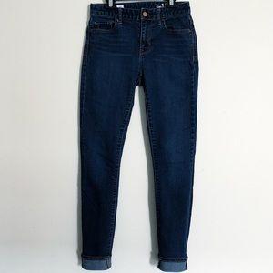GAP High Rise Skinny Jeans 25R Salinas EUC
